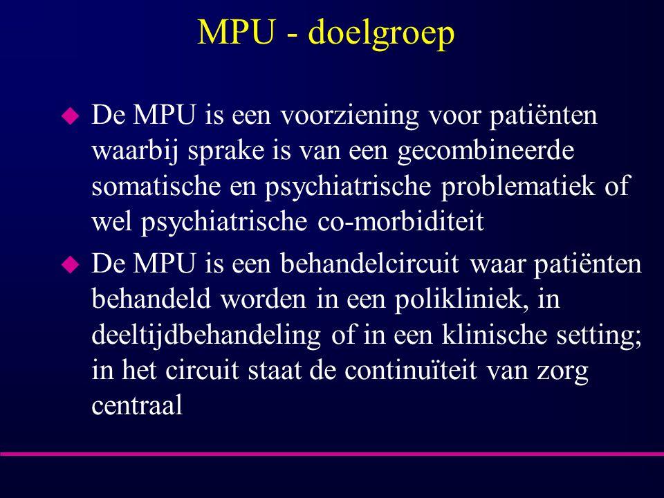 MPU - doelgroep