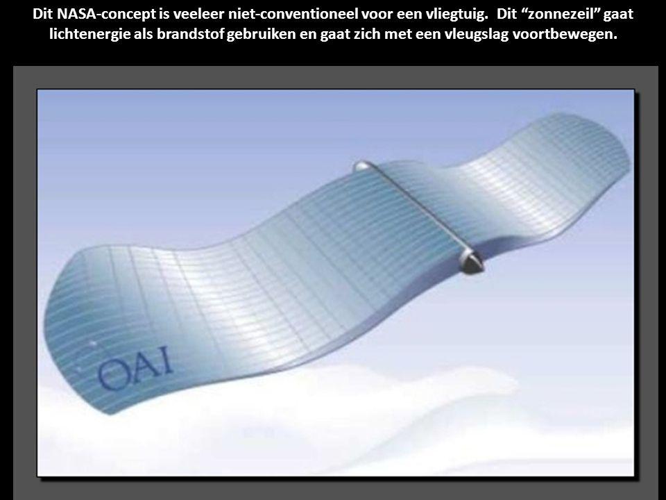 Dit NASA-concept is veeleer niet-conventioneel voor een vliegtuig