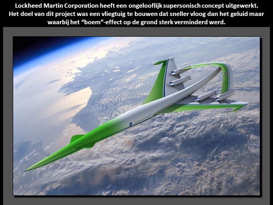 Lockheed Martin Corporation heeft een ongelooflijk supersonisch concept uitgewerkt.