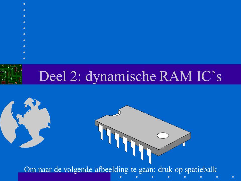 Deel 2: dynamische RAM IC's