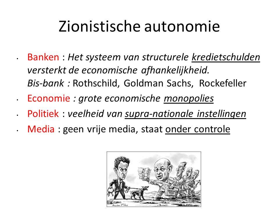 Zionistische autonomie