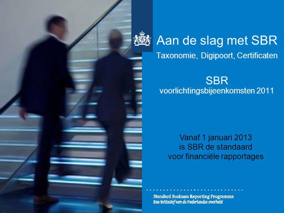 voor financiële rapportages