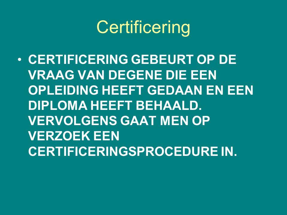 Certificering