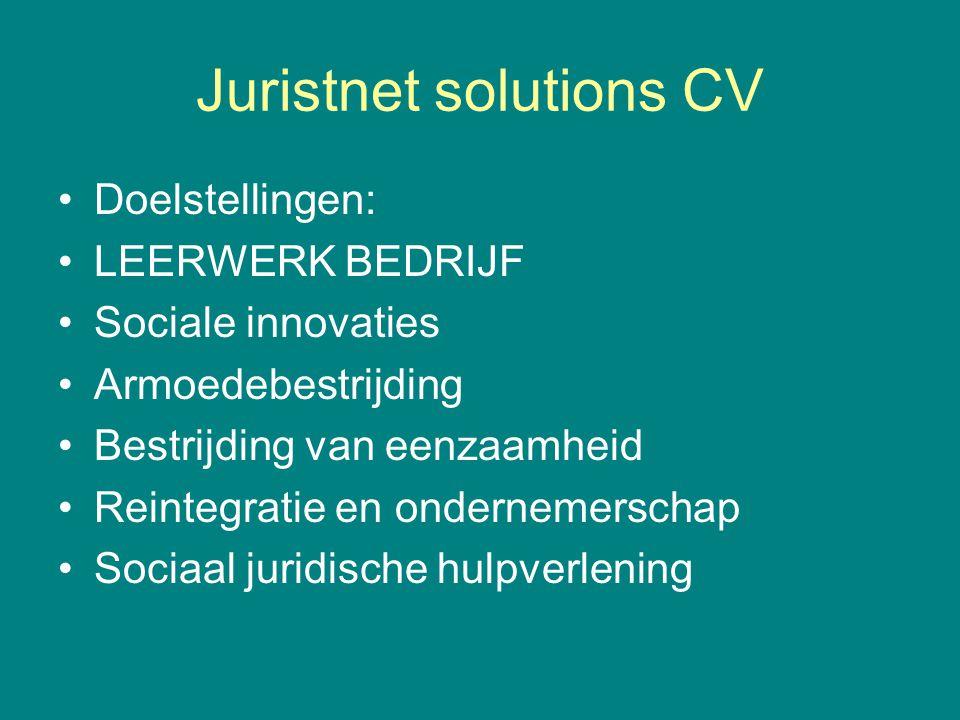 Juristnet solutions CV
