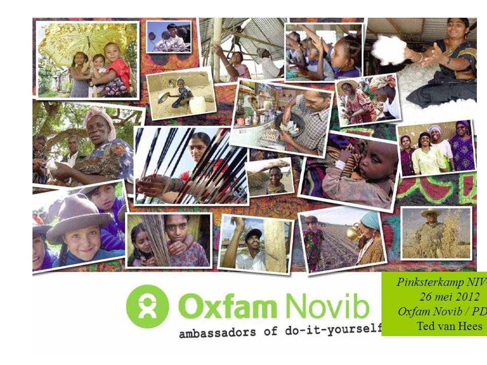Pinksterkamp NIVON 26 mei 2012 Oxfam Novib / PDSE Ted van Hees