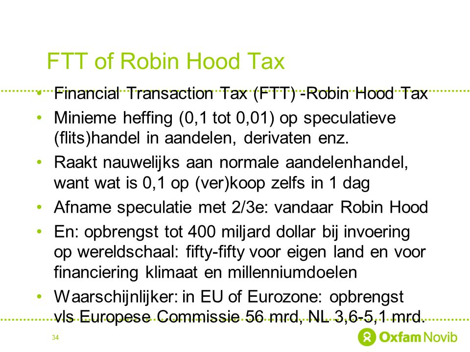 FTT of Robin Hood Tax Financial Transaction Tax (FTT) -Robin Hood Tax