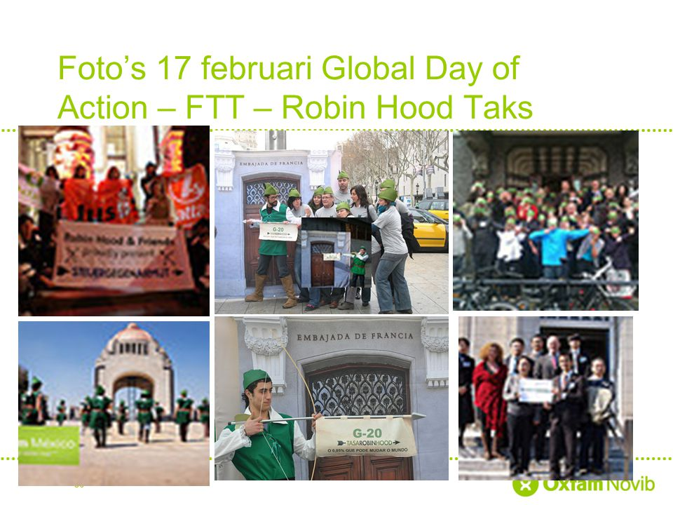 Foto's 17 februari Global Day of Action – FTT – Robin Hood Taks