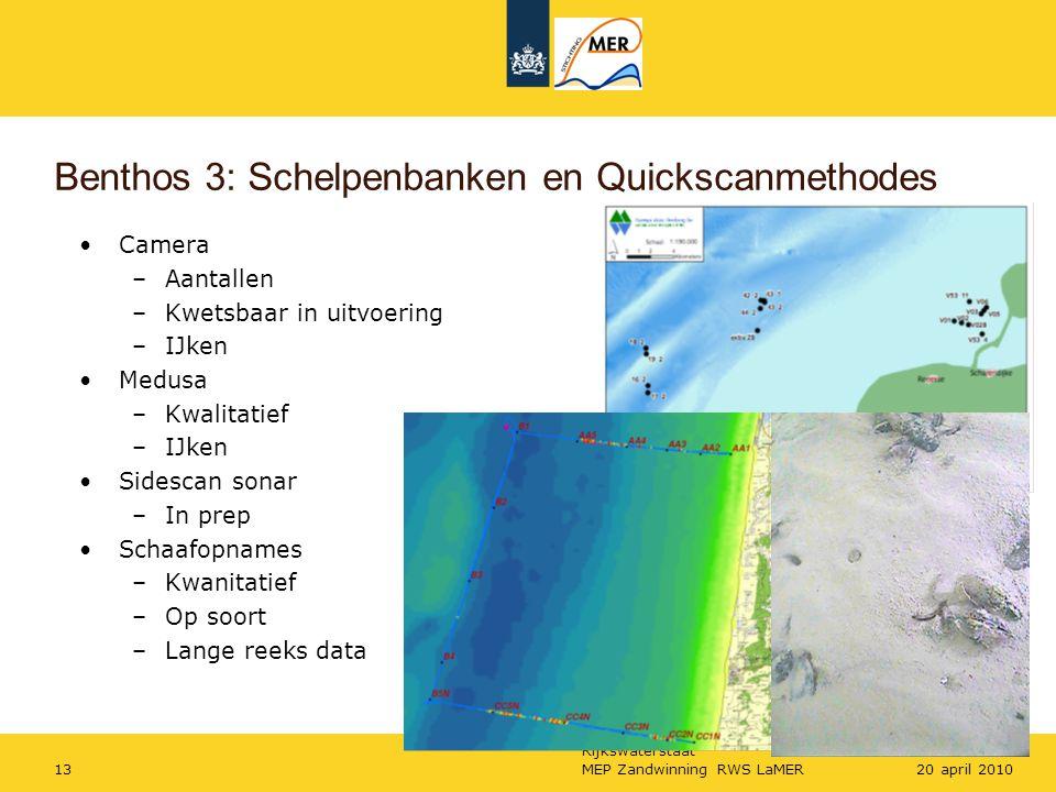 Benthos 3: Schelpenbanken en Quickscanmethodes