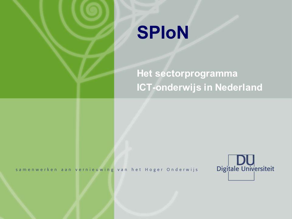 Het sectorprogramma ICT-onderwijs in Nederland