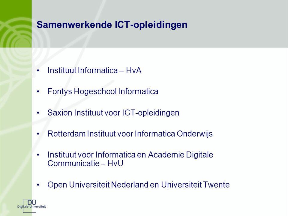 Samenwerkende ICT-opleidingen