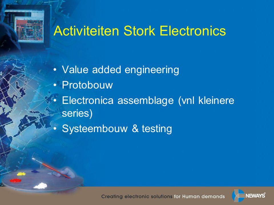 Activiteiten Stork Electronics