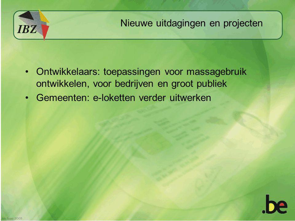 Nieuwe uitdagingen en projecten