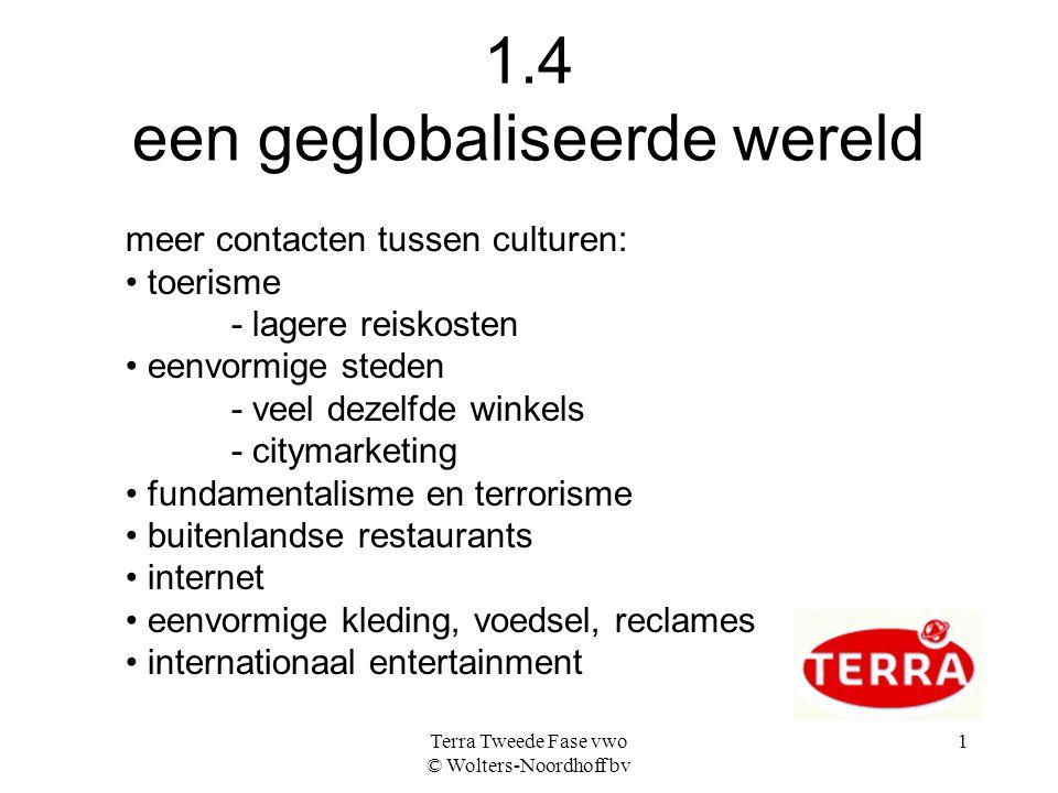 1.4 een geglobaliseerde wereld