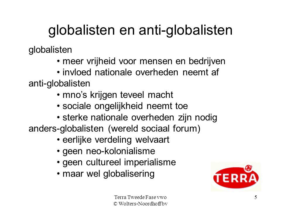 globalisten en anti-globalisten