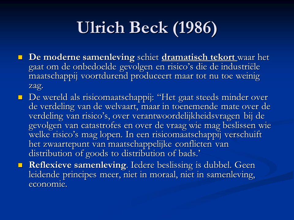 Ulrich Beck (1986)