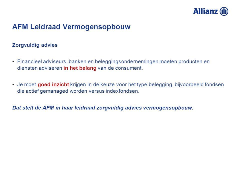 AFM Leidraad Vermogensopbouw