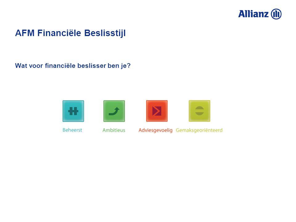 AFM Financiële Beslisstijl