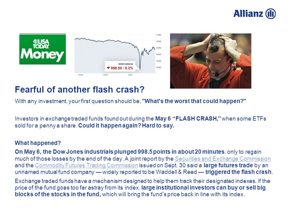 Fearful of another flash crash