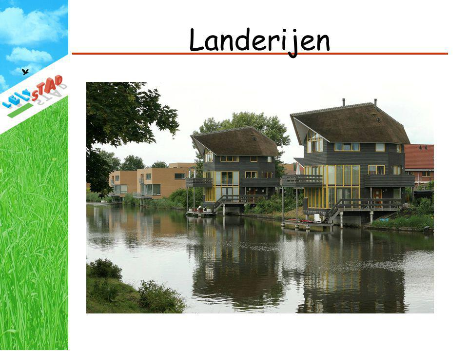 Landerijen 1800 woningen, vanaf 2001.
