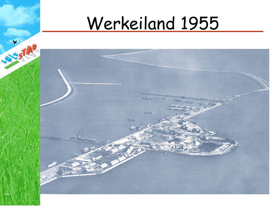 Werkeiland 1955 Lelystad eind 1955