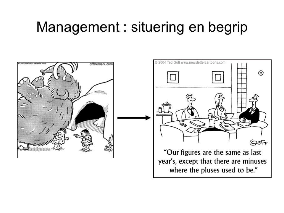 Management : situering en begrip