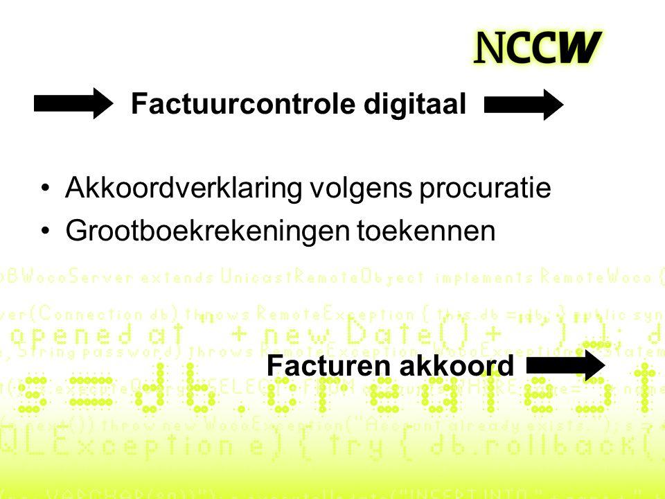 Factuurcontrole digitaal