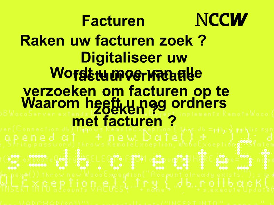 Digitaliseer uw factuurverificatie