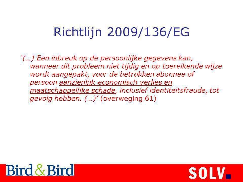 Richtlijn 2009/136/EG
