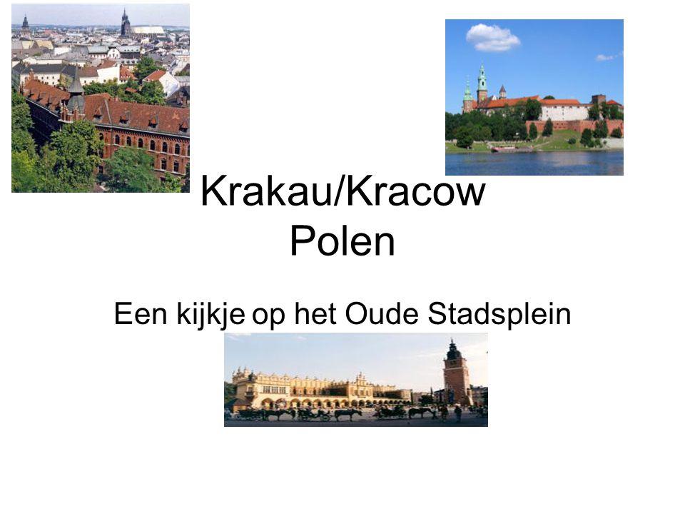 Een kijkje op het Oude Stadsplein