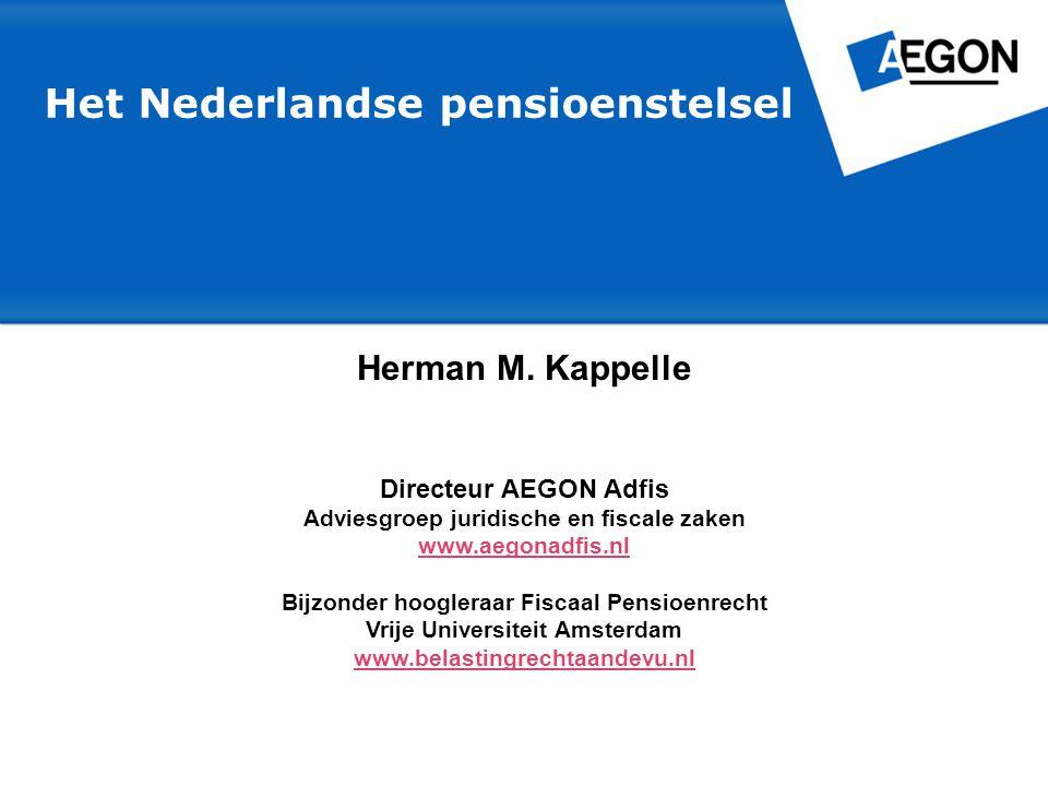 Het Nederlandse pensioenstelsel