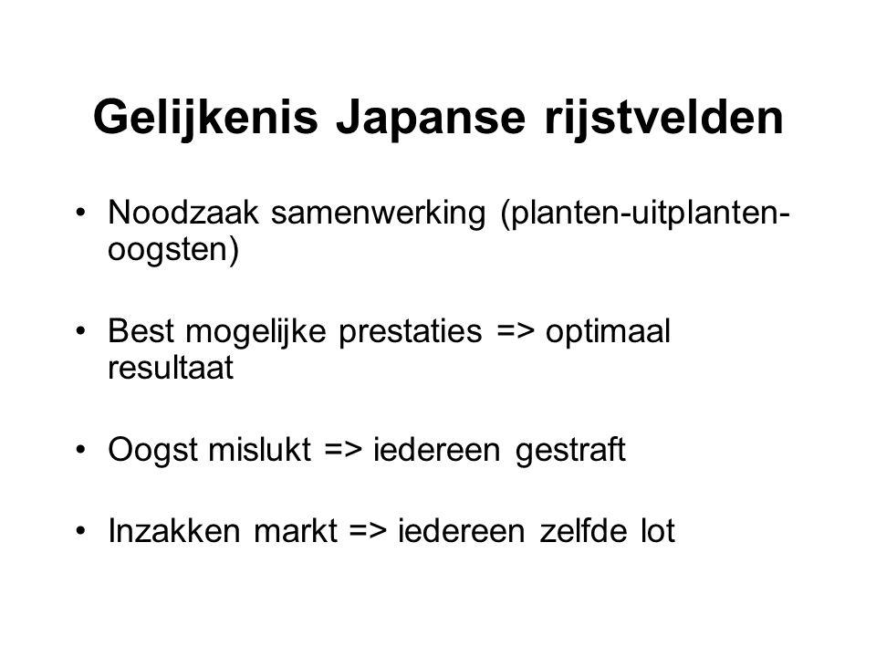 Gelijkenis Japanse rijstvelden