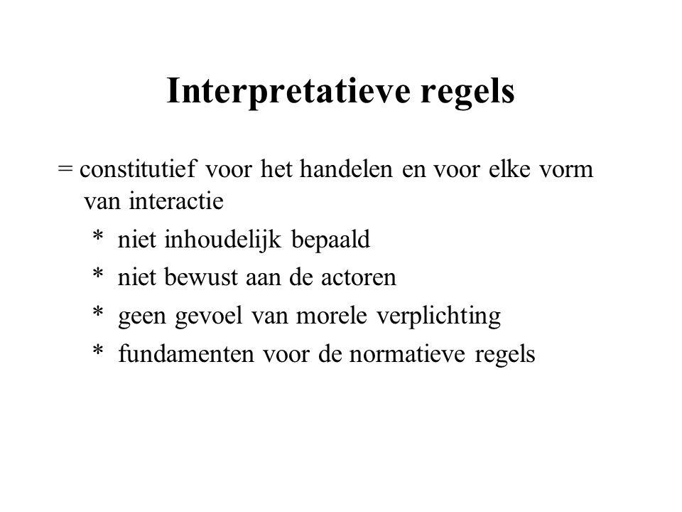 Interpretatieve regels