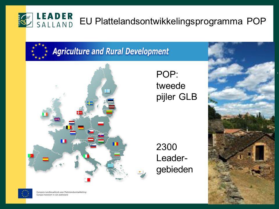 EU Plattelandsontwikkelingsprogramma POP
