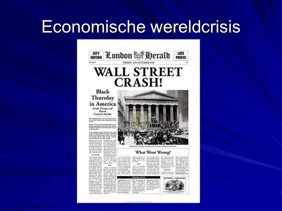 Economische wereldcrisis