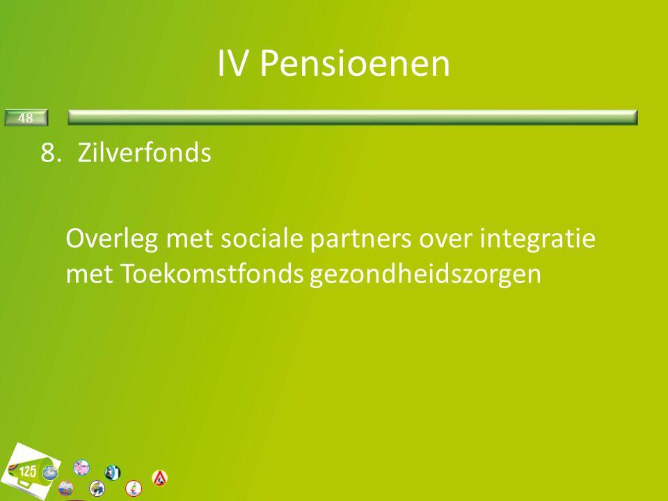 IV Pensioenen Zilverfonds