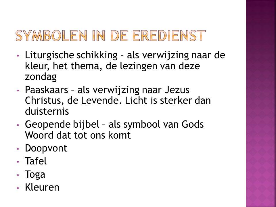 Symbolen in de eredienst