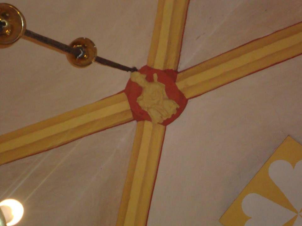 Sint Nicolaas, de schutspatroon van deze kerk