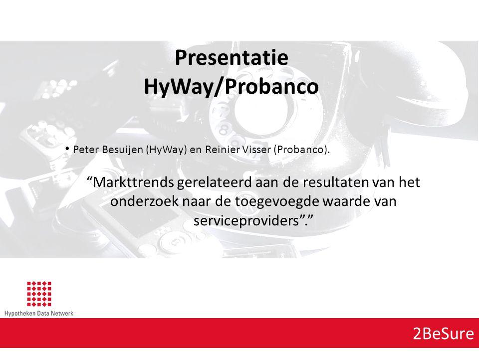 Presentatie HyWay/Probanco