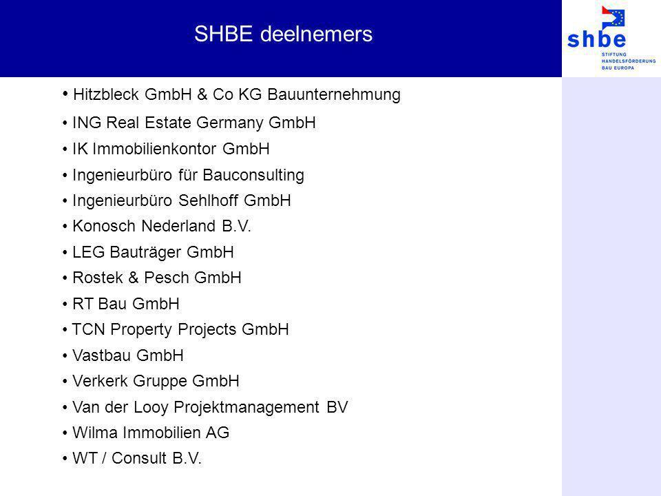 SHBE deelnemers Hitzbleck GmbH & Co KG Bauunternehmung