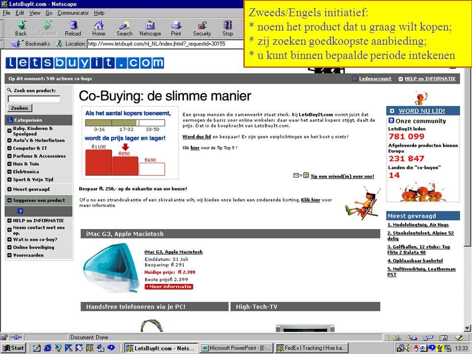 Zweeds/Engels initiatief:
