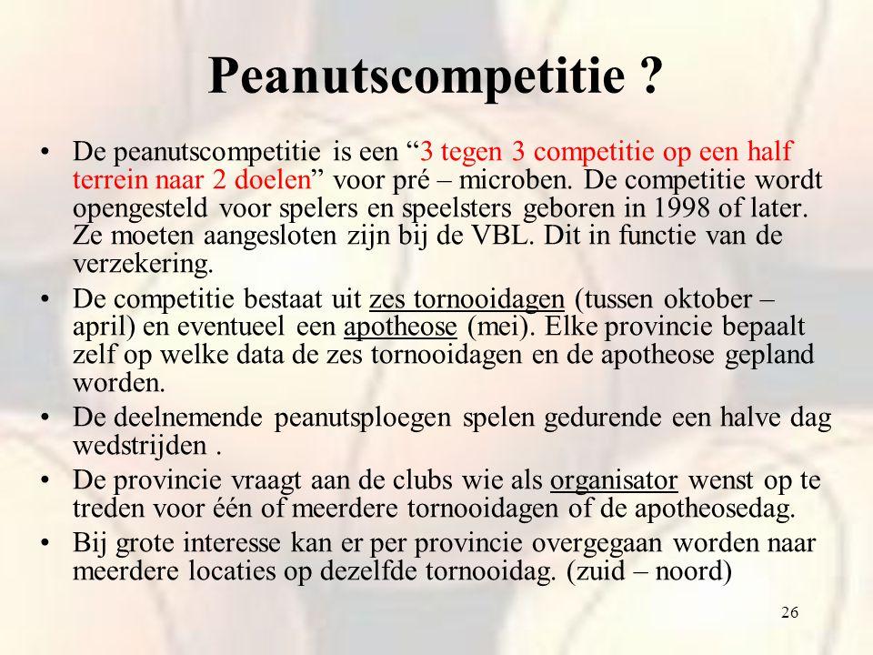 Peanutscompetitie