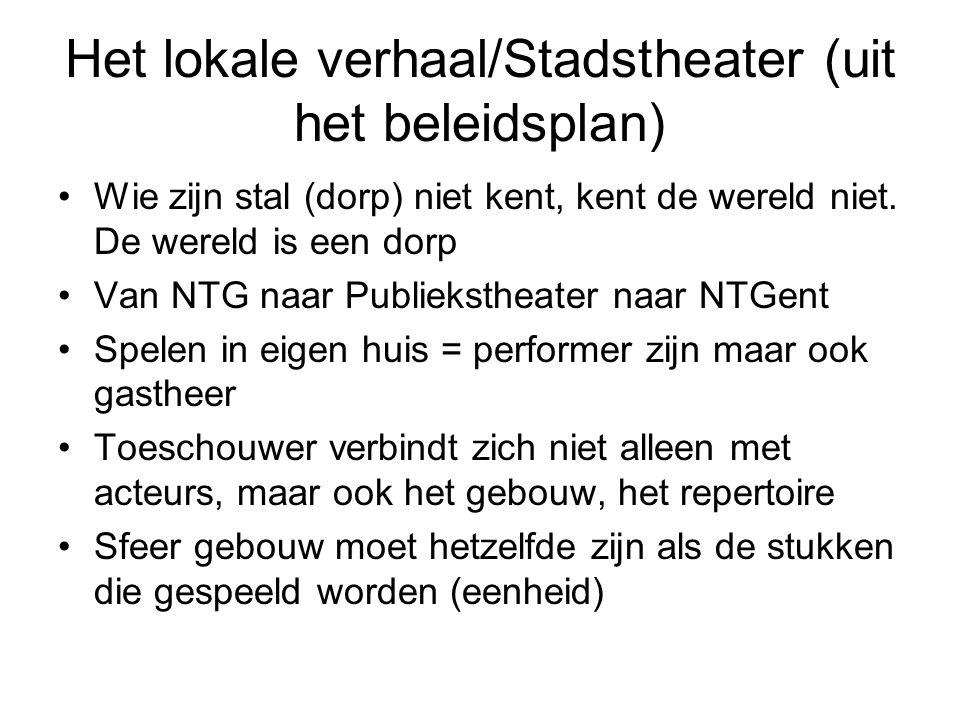 Het lokale verhaal/Stadstheater (uit het beleidsplan)