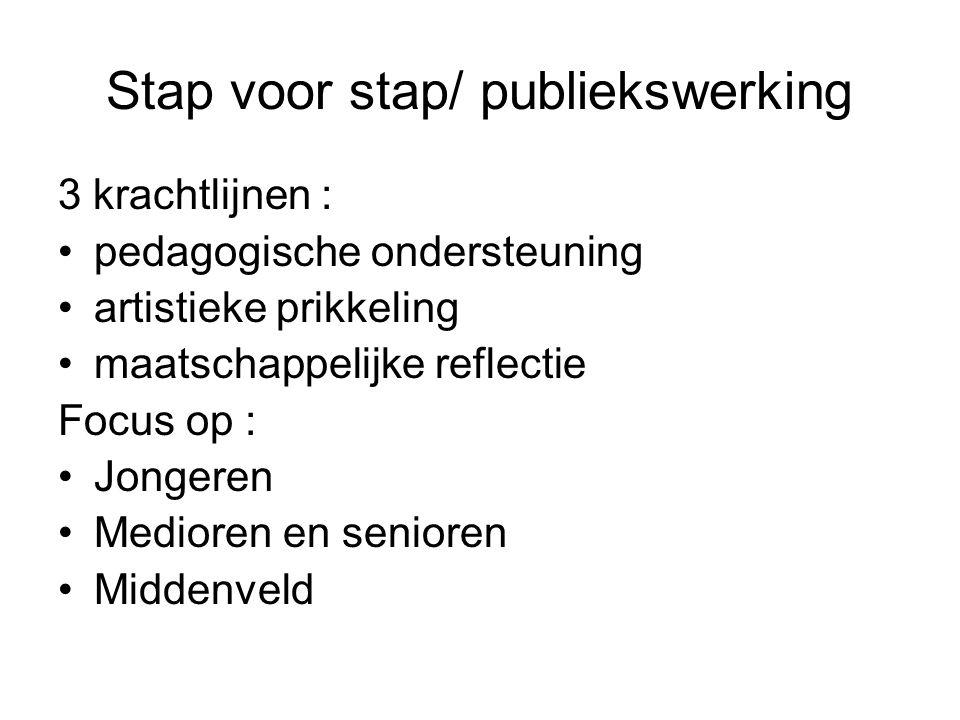 Stap voor stap/ publiekswerking