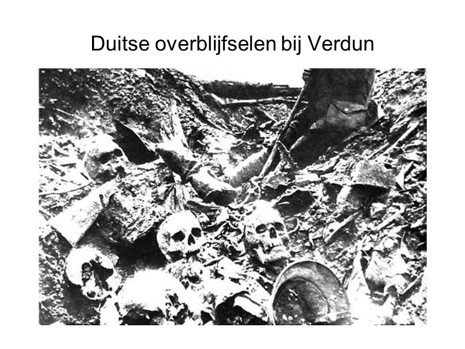 Duitse overblijfselen bij Verdun