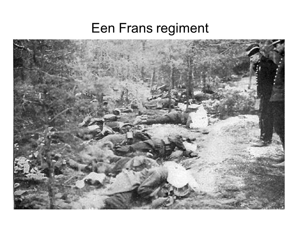 Een Frans regiment