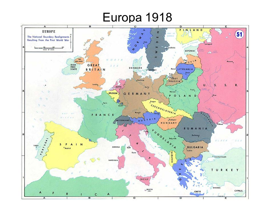 Europa 1918