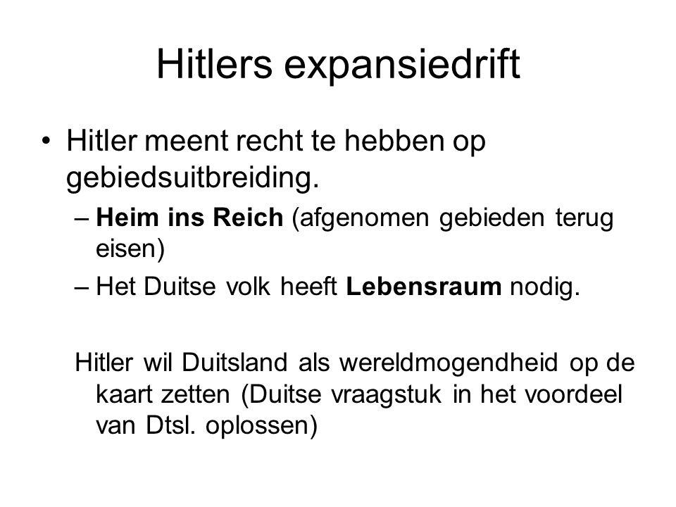 Hitlers expansiedrift