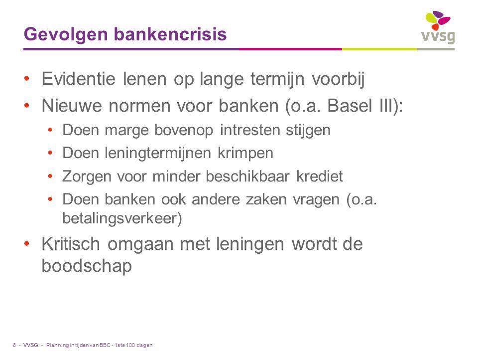 Gevolgen bankencrisis