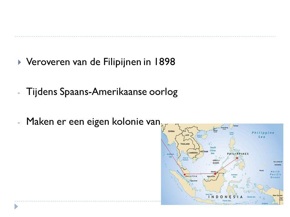 Veroveren van de Filipijnen in 1898