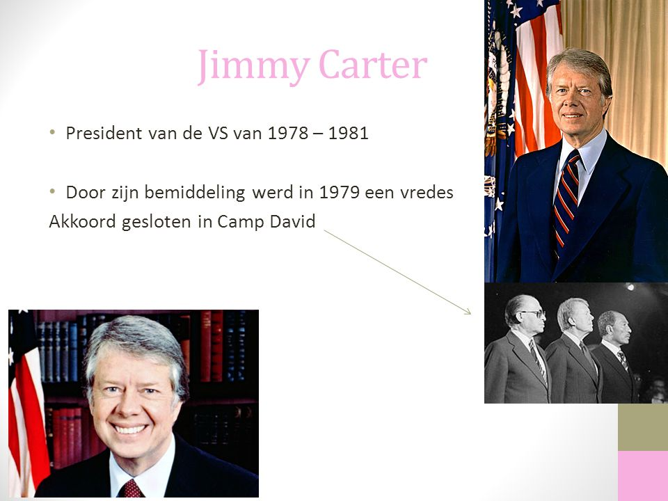 Jimmy Carter President van de VS van 1978 – 1981